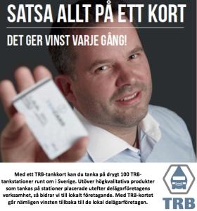 Satsa på TRB-tankkort