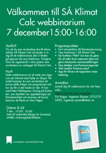 2017-12-07 Webinarium SÅ Klimat Calc
